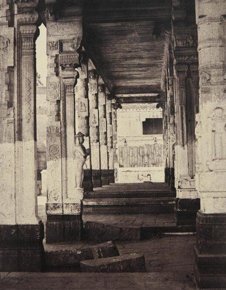Captain Linnaeus Tripe - Madura. The Great Pagoda, Interior View Of Part Of Muroothappa Sarvacar Munduppum, January-February-1858