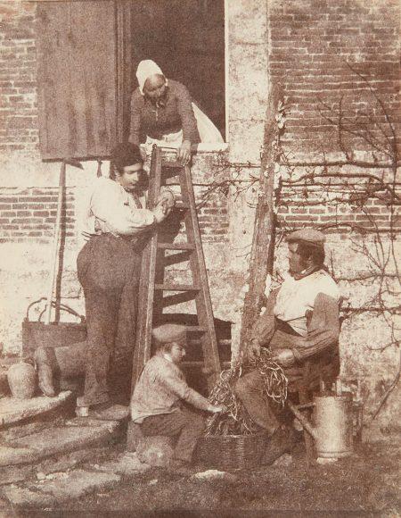 Baron Louis-Adolphe Humbert De Molard - Sorting Beans: A Group Of Argentelle; Standing, Louis Dodier-1848