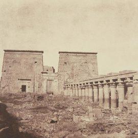 John Beasley Greene-Island Of Fila, Colonnades And First Pylon-1854