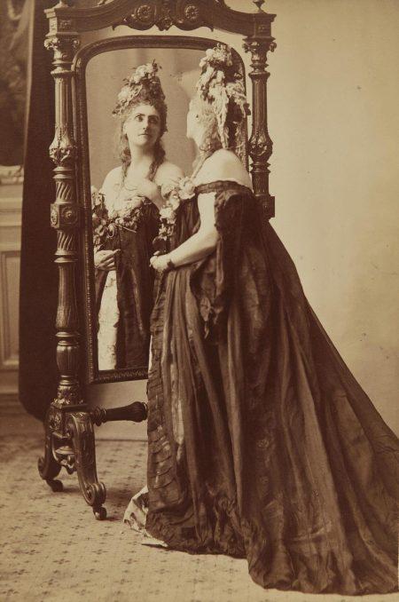 Pierre-Louis Pierson - Rose De Compiegne, Portrait Of The Countess Of Castiglione From Serie Des Roses-1895