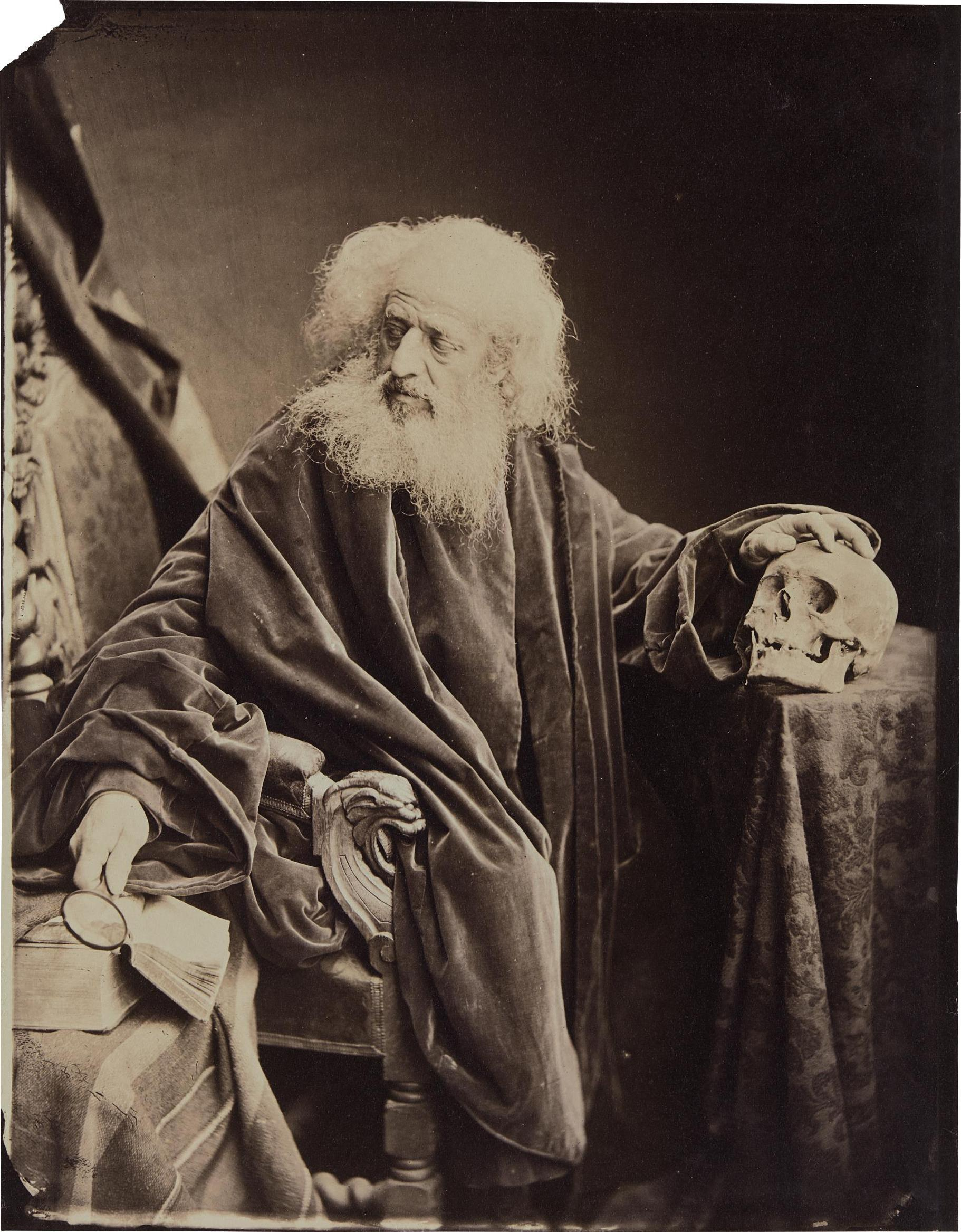 Antoine-Samuel Adam-Salomon - The Philosopher-1870