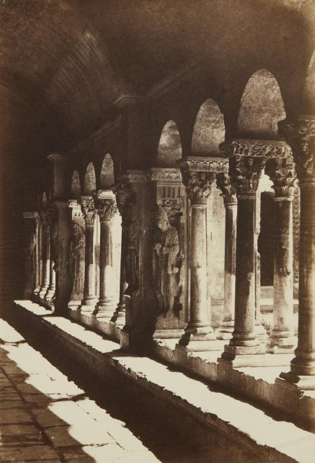 Charles Negre-The Interior Of The Cloister At Saint-Trophime, Arles-1852