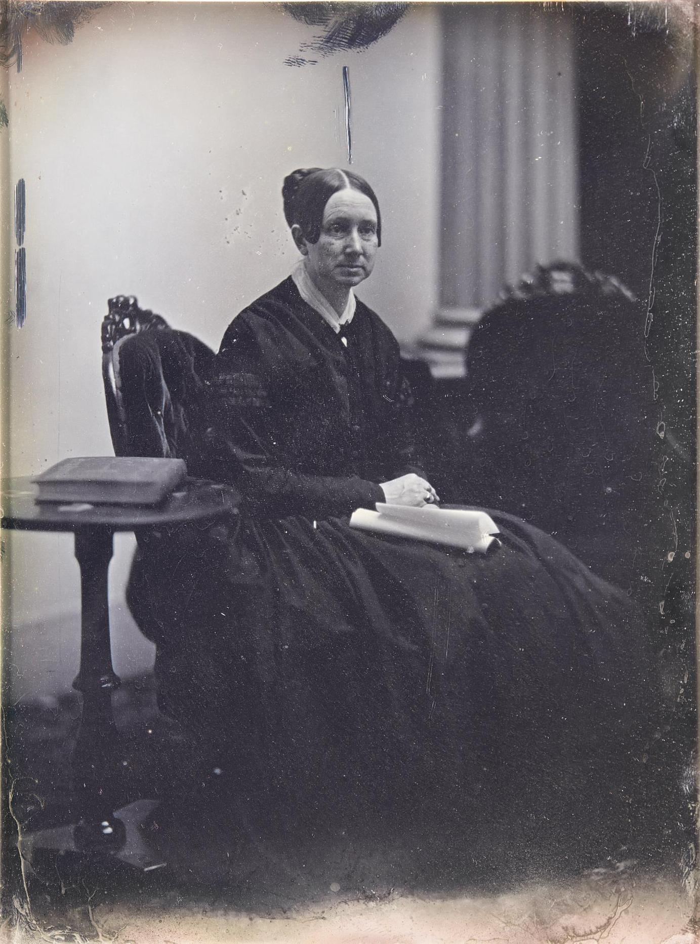 Albert Sands Southworth And Josiah Johnson Hawes - Seated Portrait Of Dorothea Dix-1849