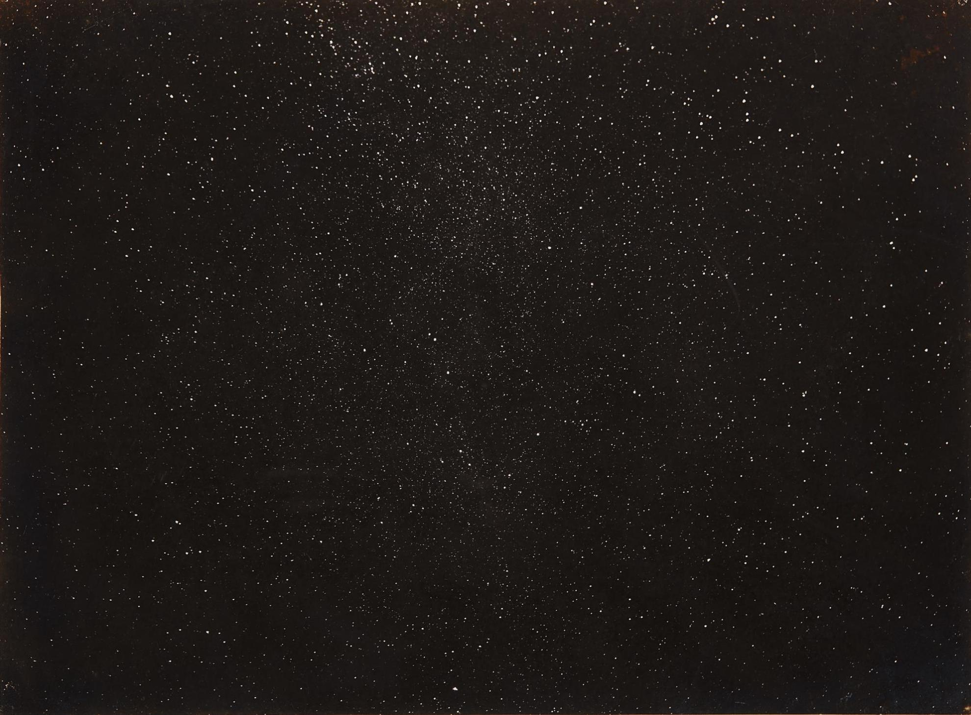 J. Milton Offord - The Milky Way In Sagitta, Aguila, Vulpecula & Lyra, July 22, 1901, 2 Hour Exposure-1901