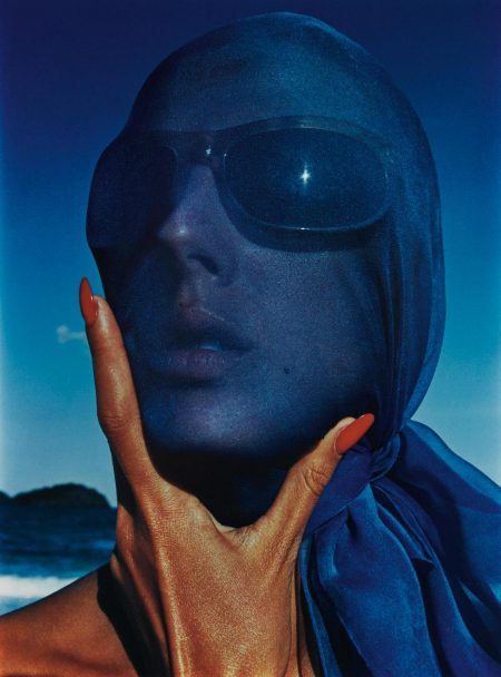 Hiro-Tilly Tazzani With Blue Scarf-1963