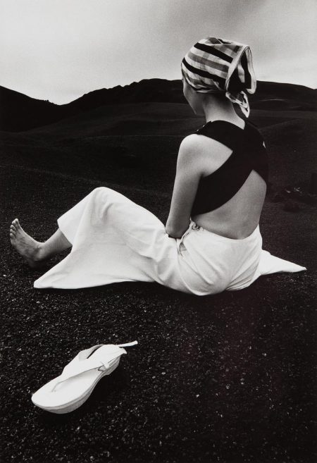 Hiro-Akiko On The Black Lava Of Hawaii-1965