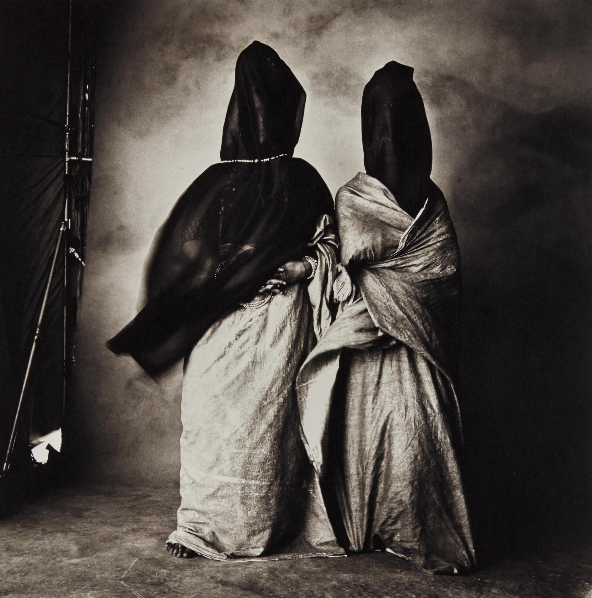 Irving Penn-Guedras In The Wind-1971