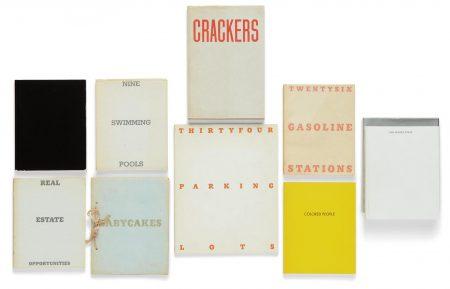 Ed Ruscha-Selected Artists Books-1972