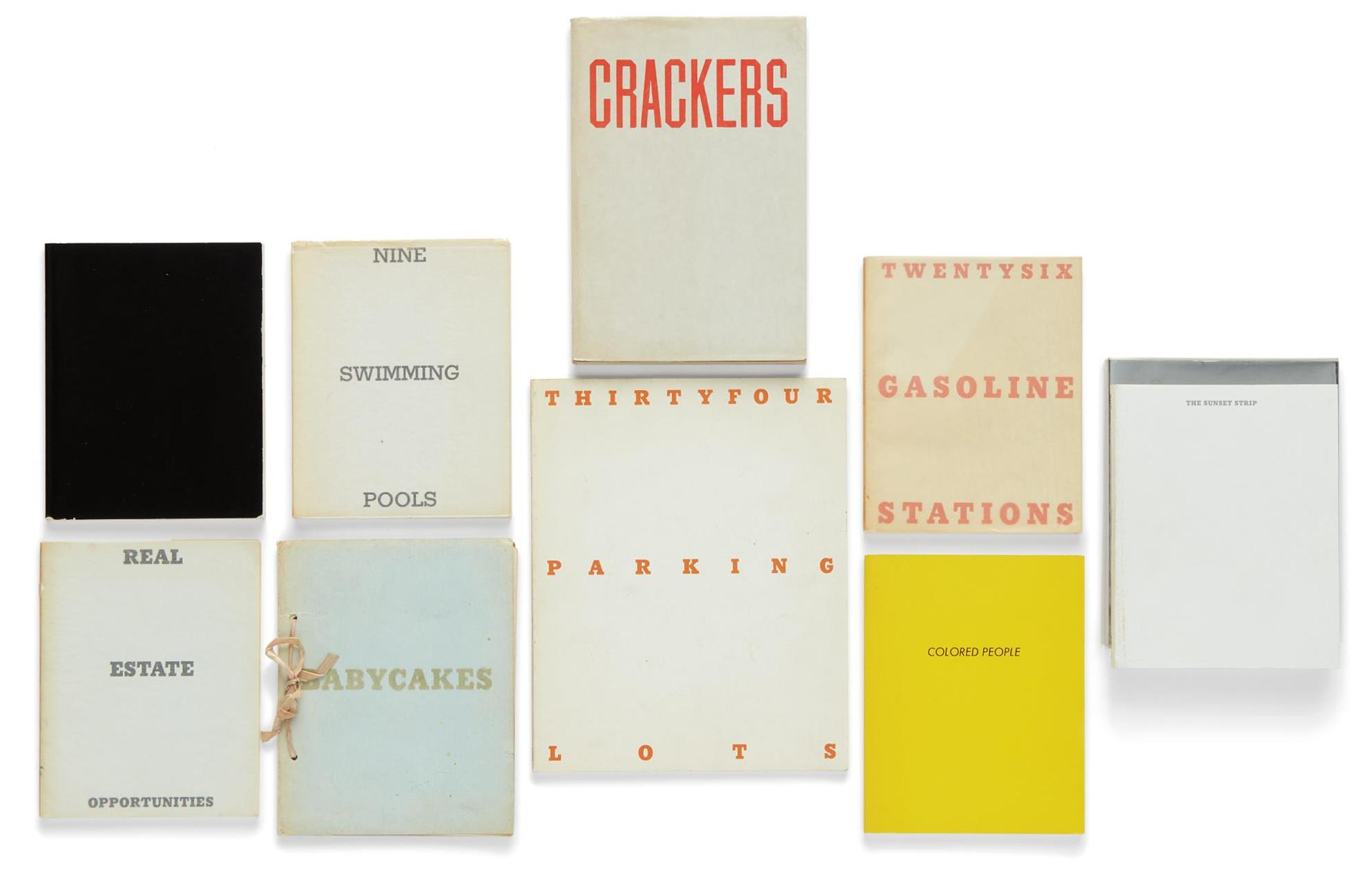 Ed Ruscha-Selected Artists Books-1972