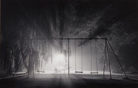 Michael Kenna-Swings, Catskill Mountains, New York-1977