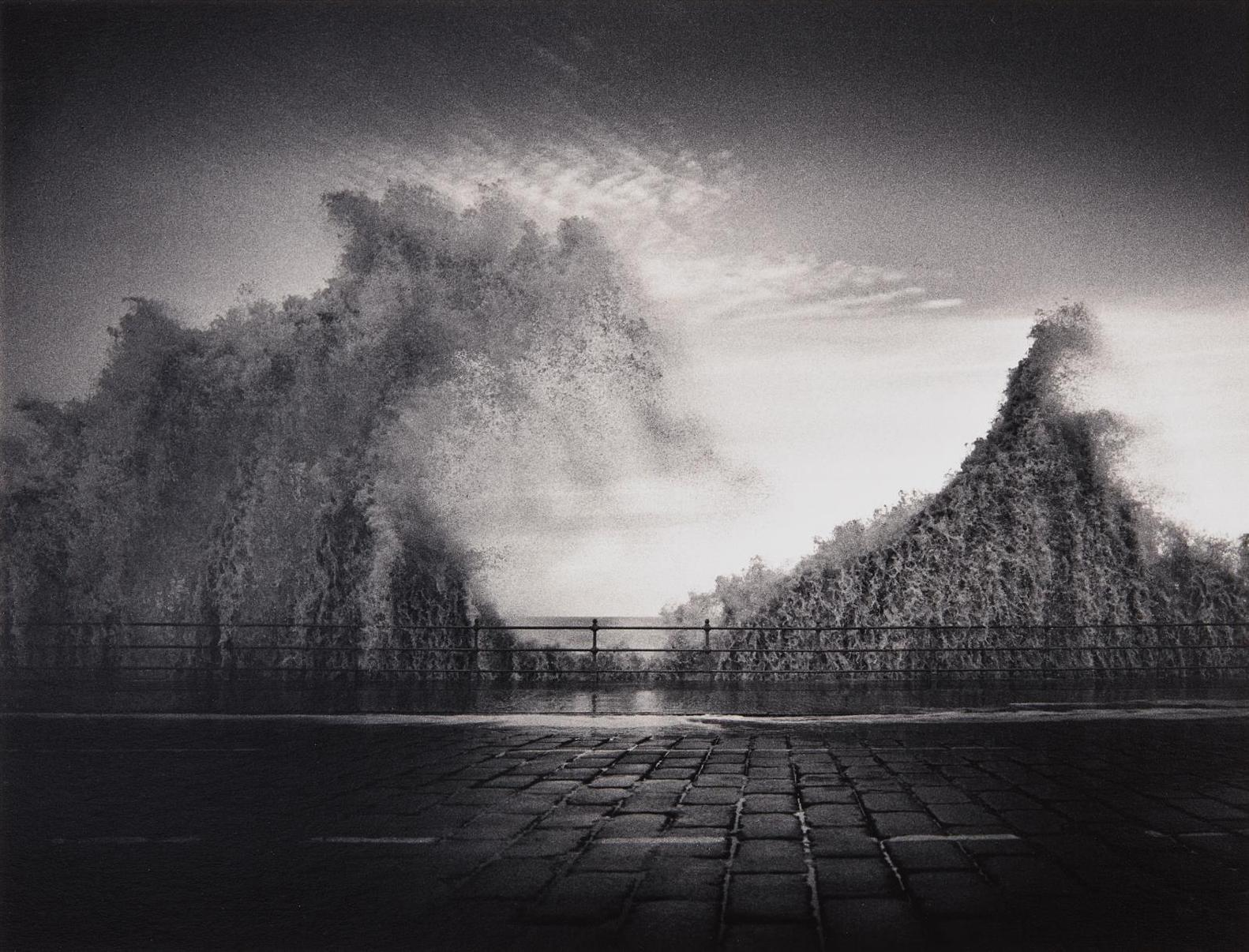 Michael Kenna-Wave, Scarborough, Yorkshire, England-1981