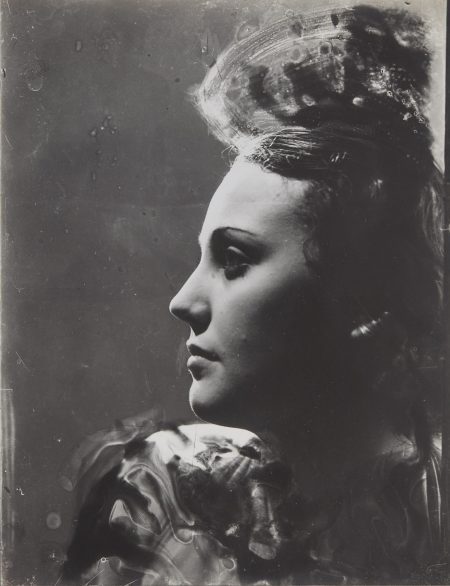 Dora Maar-Portrait De Profil Ala Coiffure En Hauteur-1930