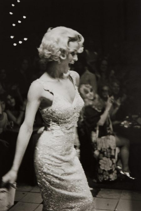 Nan Goldin-Lola Modeling At The Other Side, Boston-1972