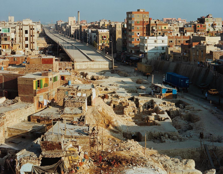 Robert Polidori-Interrupted Highway, Gabbari, Alexandria, Egypt-1999