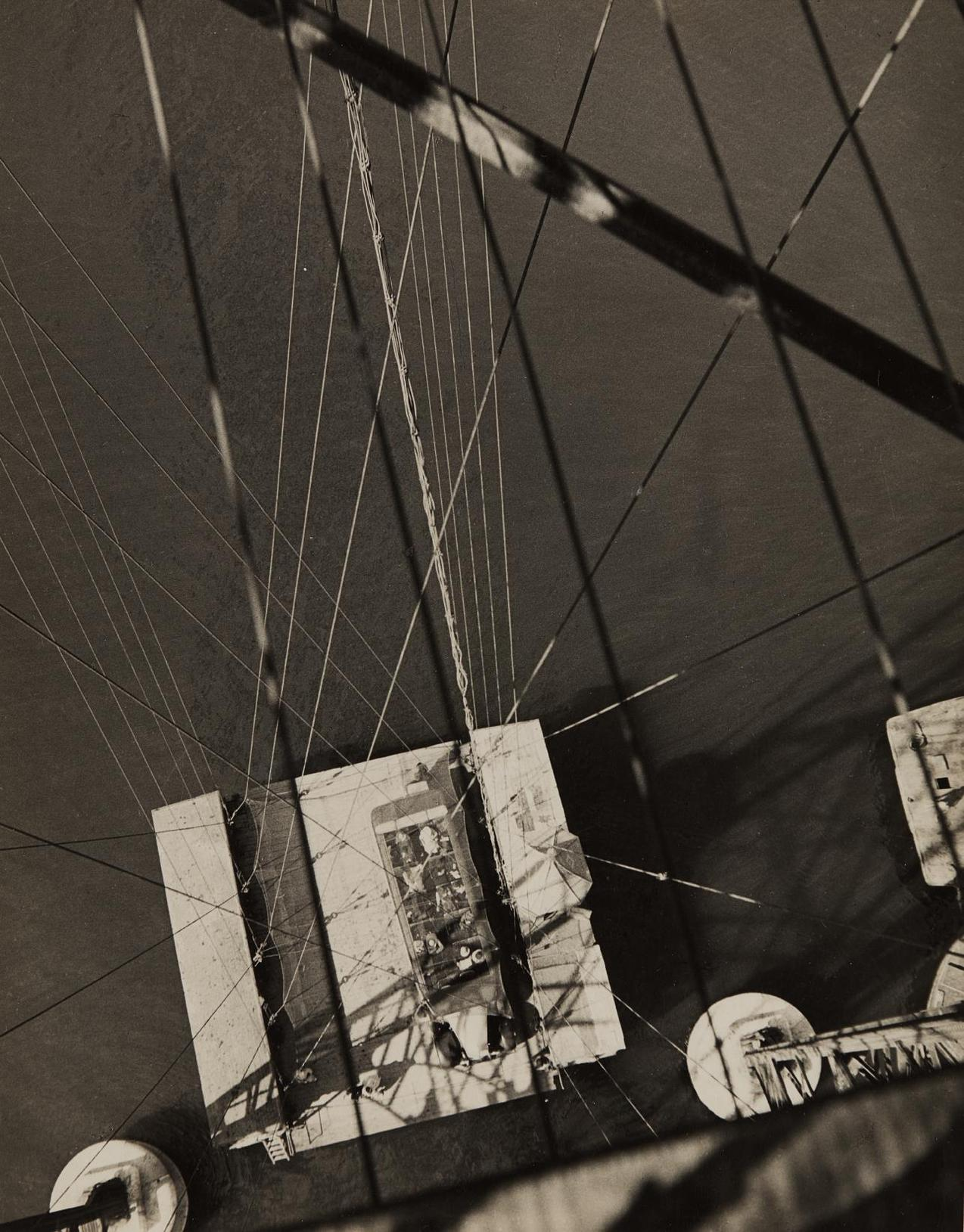 Francois Kollar-View From The Transporter Bridge, Marseille-1930