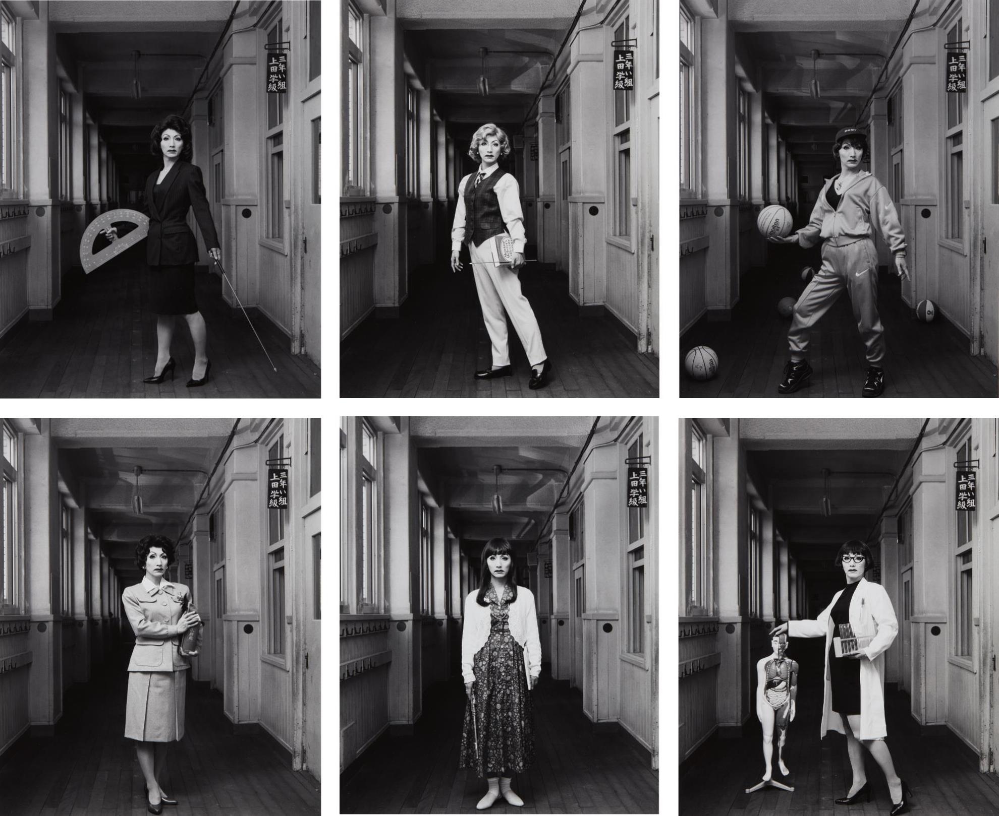 Yasumasa Morimura-Selected Images From School Teacher-1996