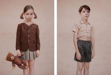 Loretta Lux-Girl With A Teddy Bear And The Boy-2001