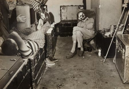 Weegee-Dressing Room Behind The Circus Ring, Ringling Brothers And Barnum & Bailey Circus-1944