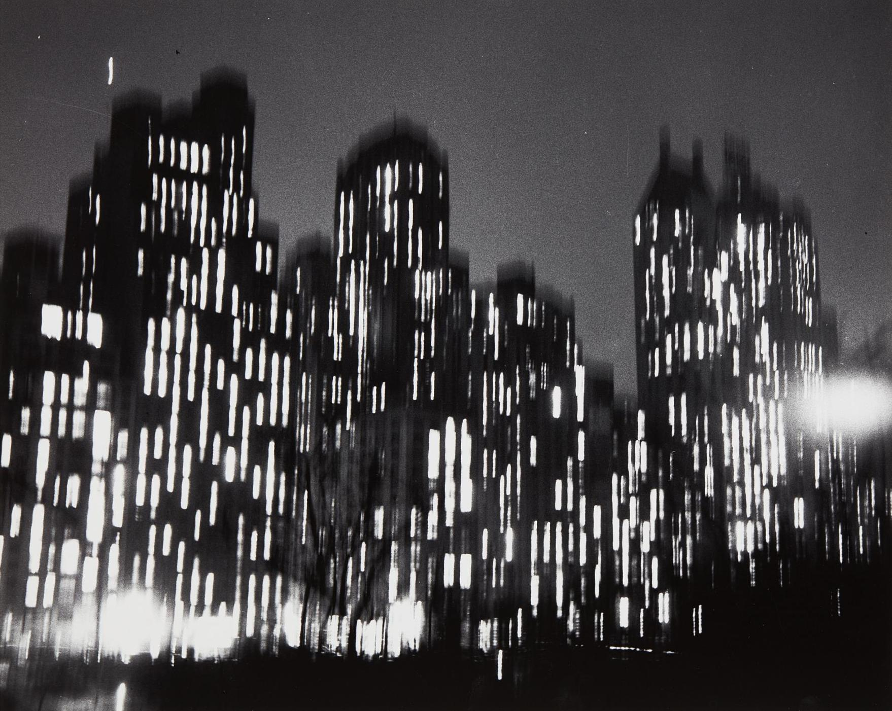 Ted Croner-Central Park South, New York-1948