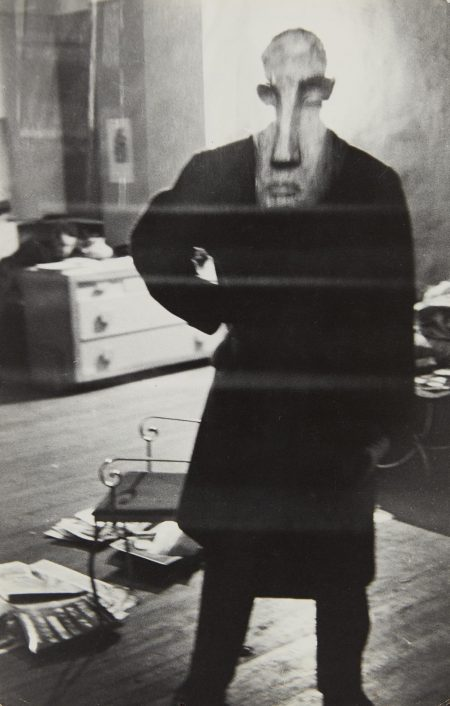 Louis Faurer-George Barrows In Robert Franks Loft, New York-1949