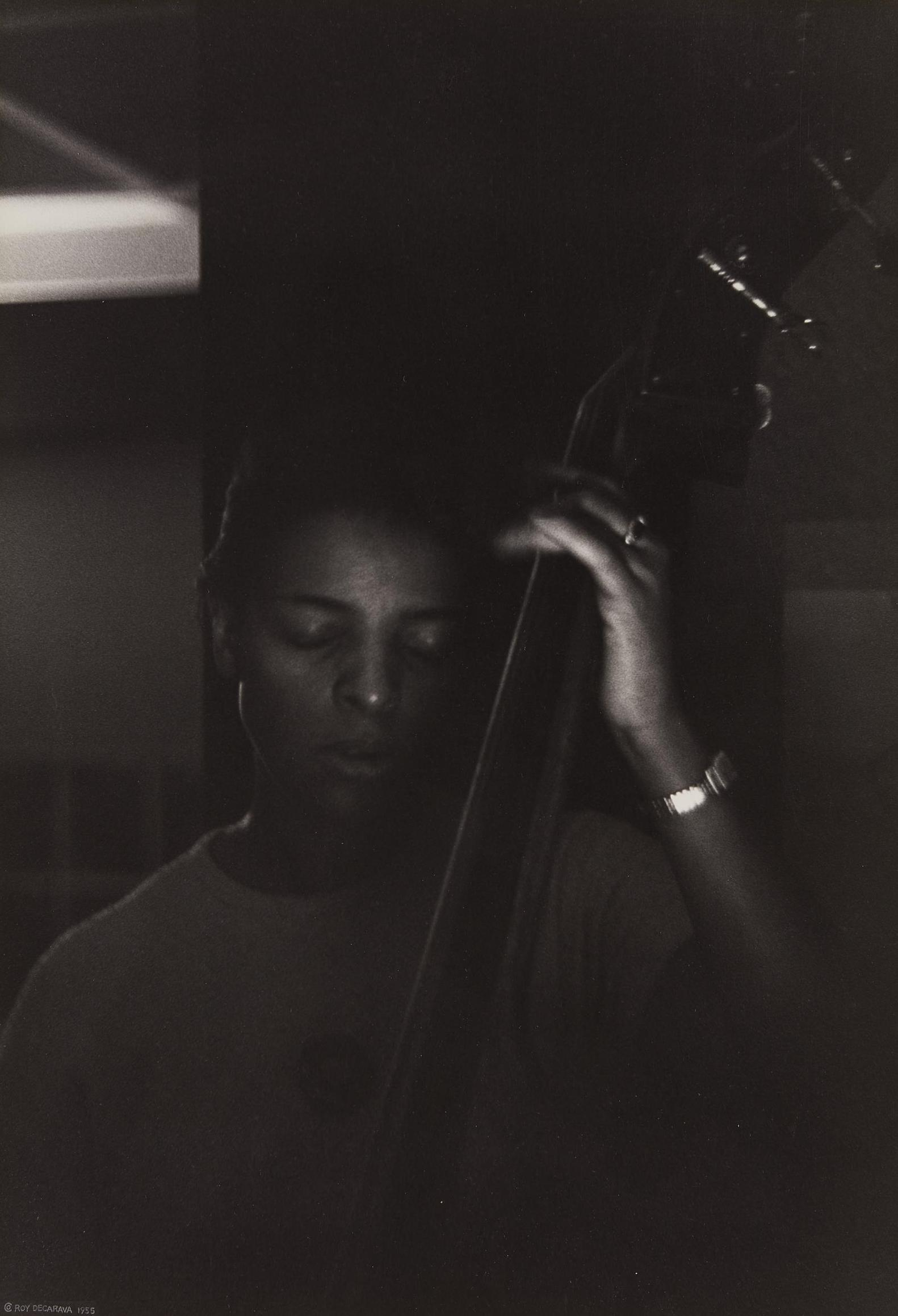 Roy DeCarava-Edna Smith-1955