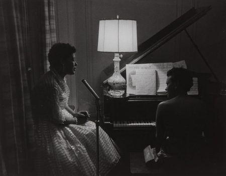 Roy DeCarava-Billie Holiday And Hazel Scott At A Party-1957
