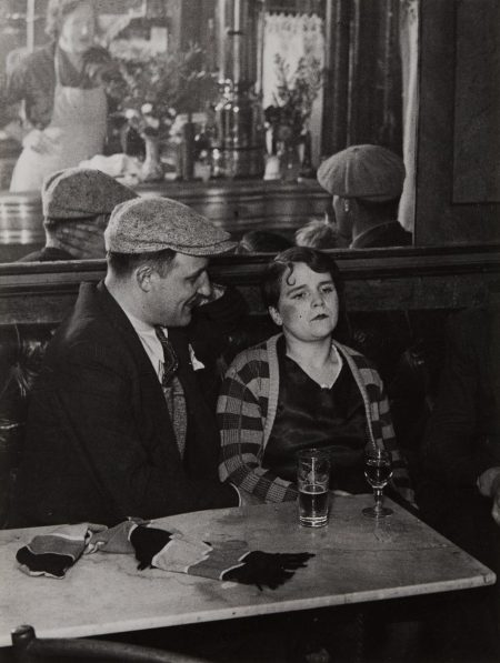 Brassai-Couple In A Bistro-1931