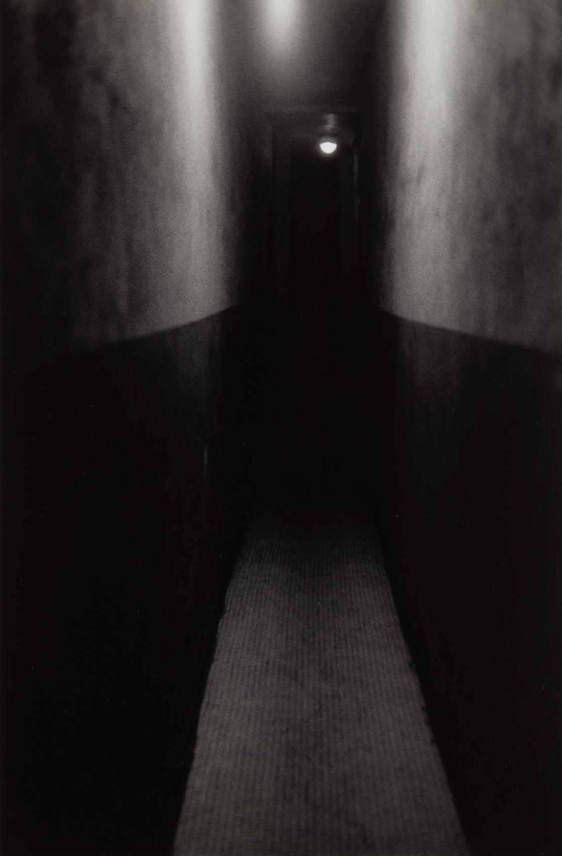 Roy DeCarava-Hallway, New York-1953