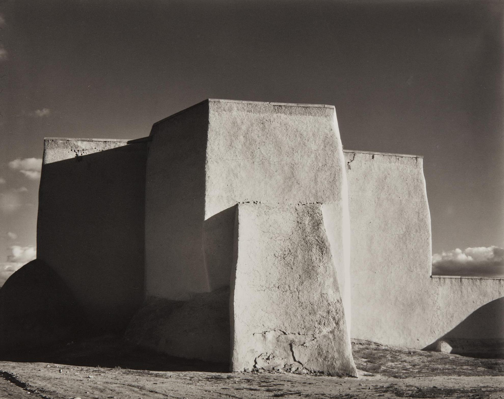 Laura Gilpin-Ranchos De Taos Church-1930