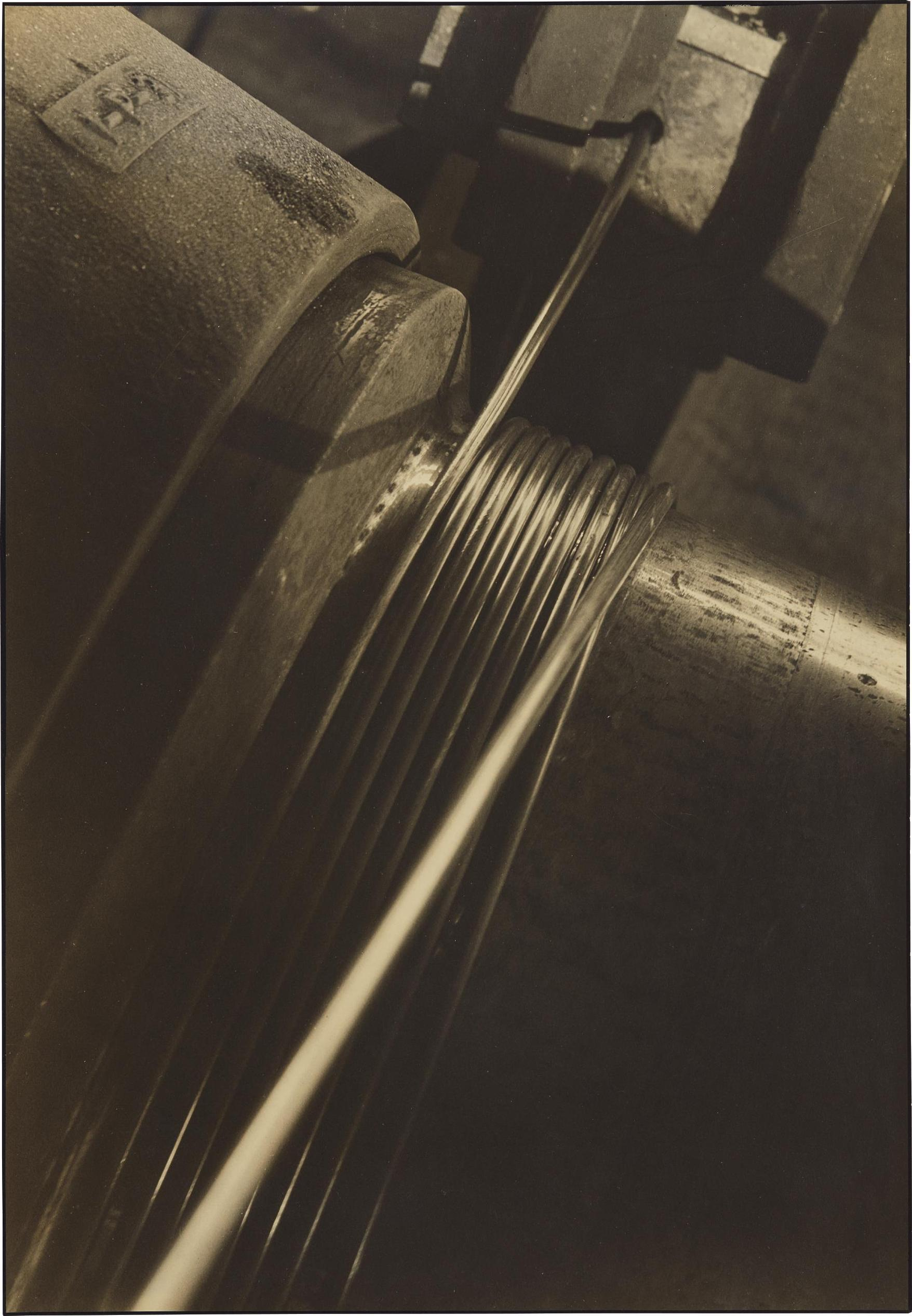 Margaret Bourke-White-Cable Spool-1930