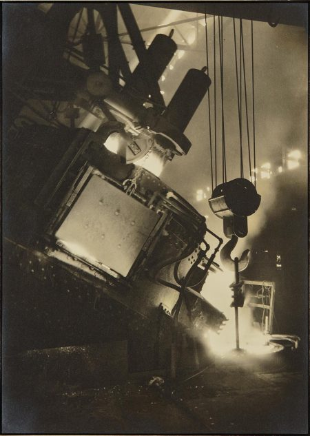 Margaret Bourke-White-Ludlum Steel Co. Electric Furnace-1930