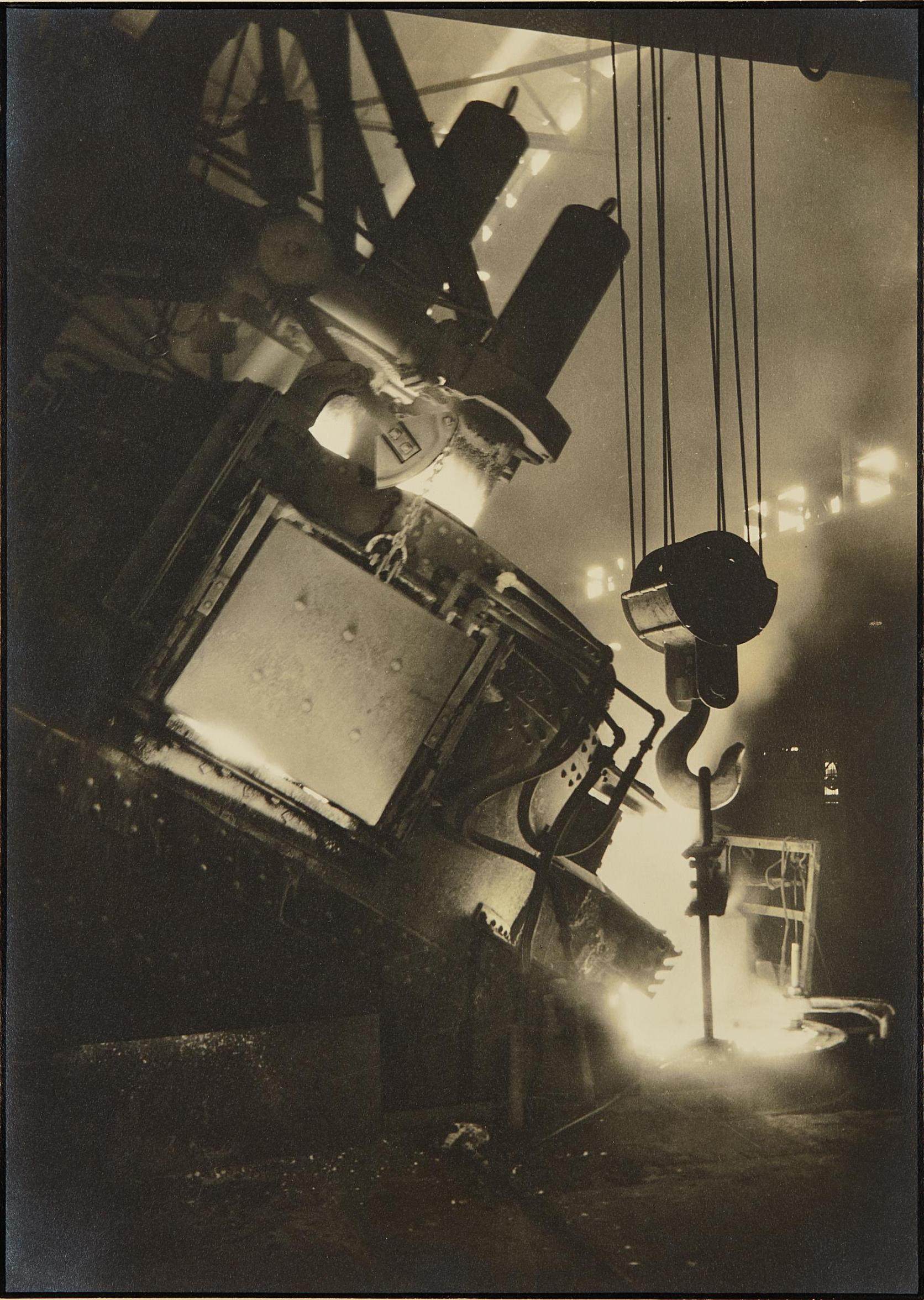 Margaret Bourke-White-Ludlum Steel Co. Electric Furnace-1930