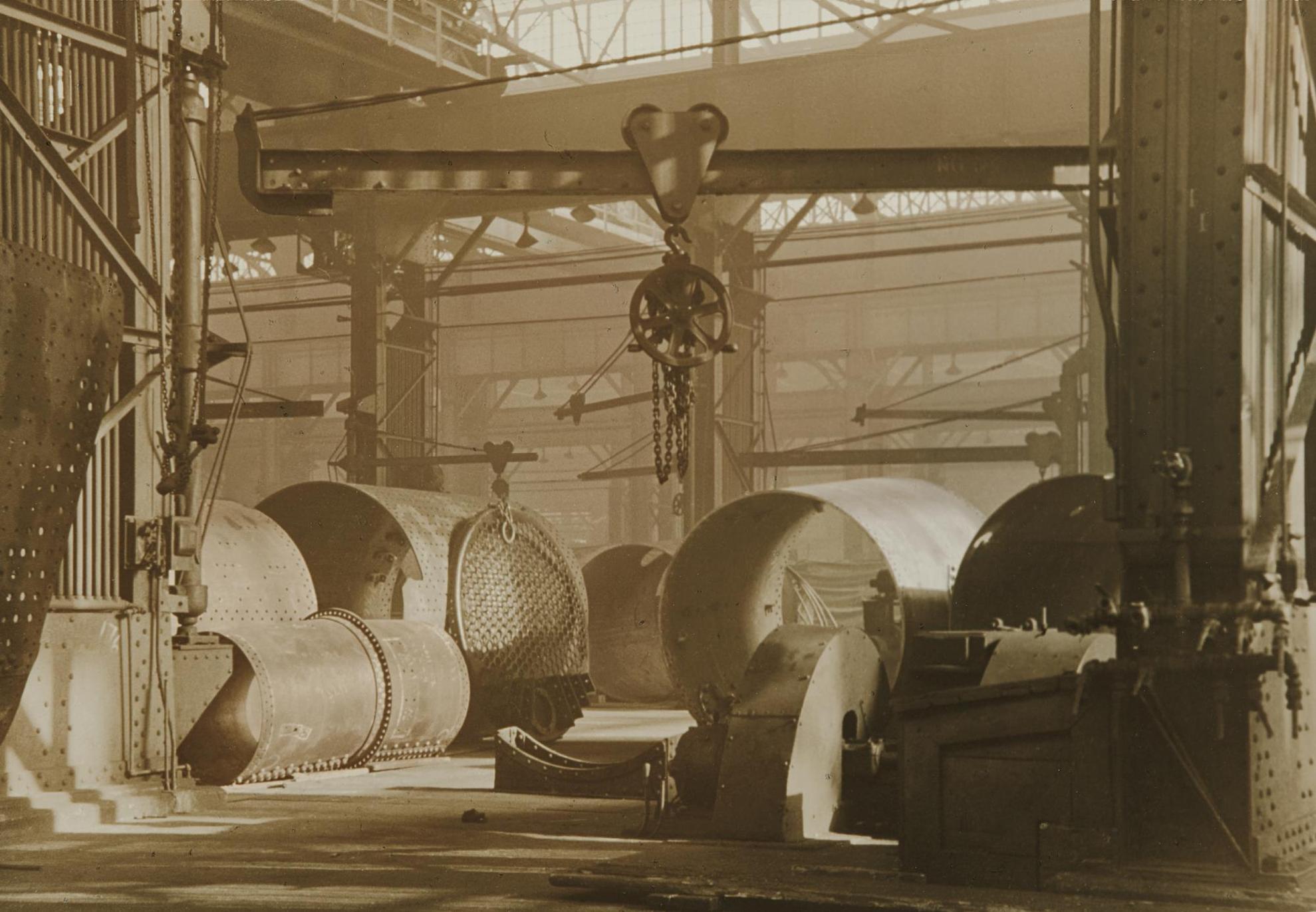 Charles Sheeler-Baldwin Locomotive Plant-1937