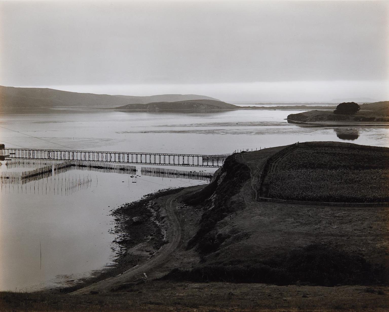Edward Weston-The Harbor, Tamales Bay-1937