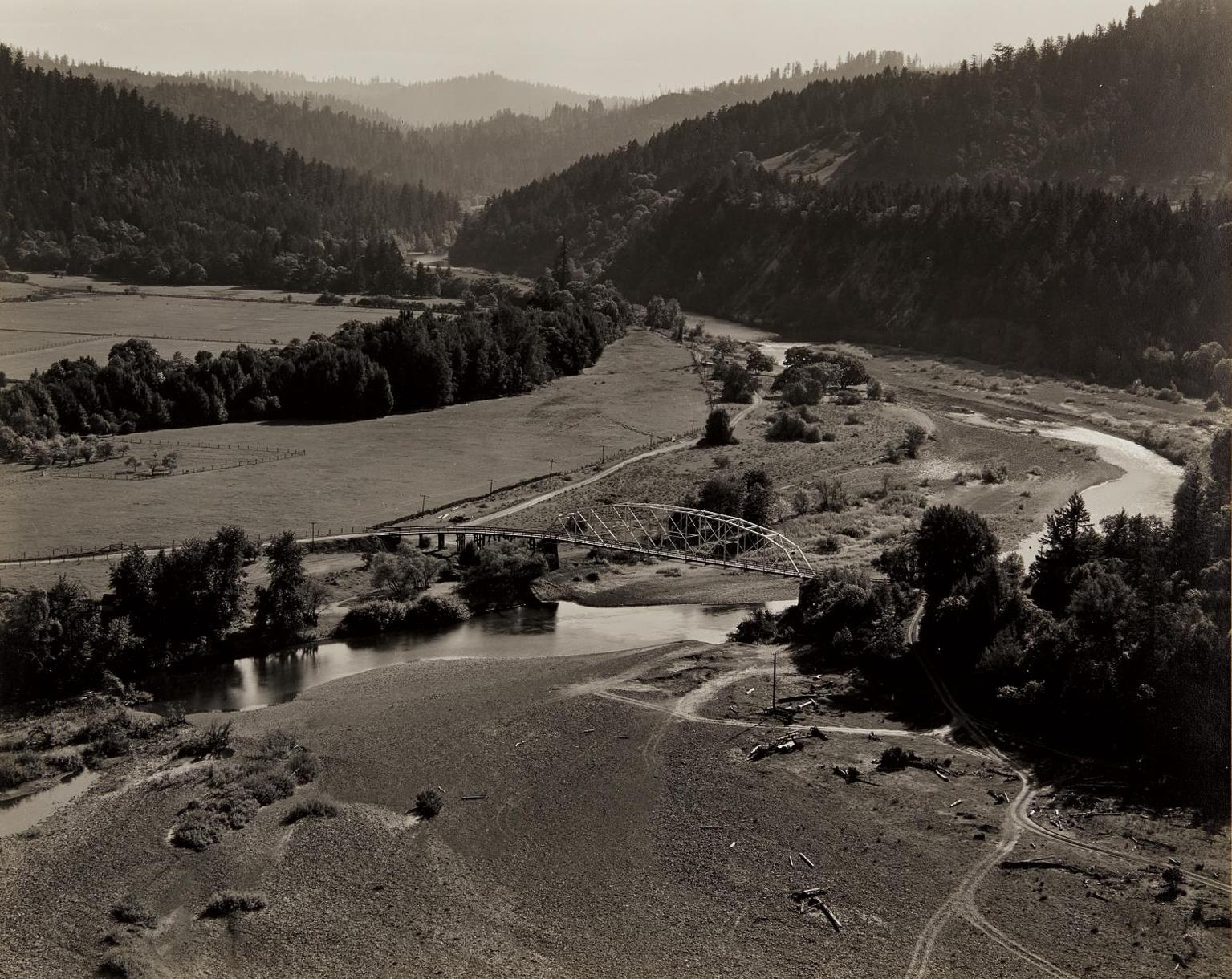 Edward Weston-South Fork, Eel River-1938