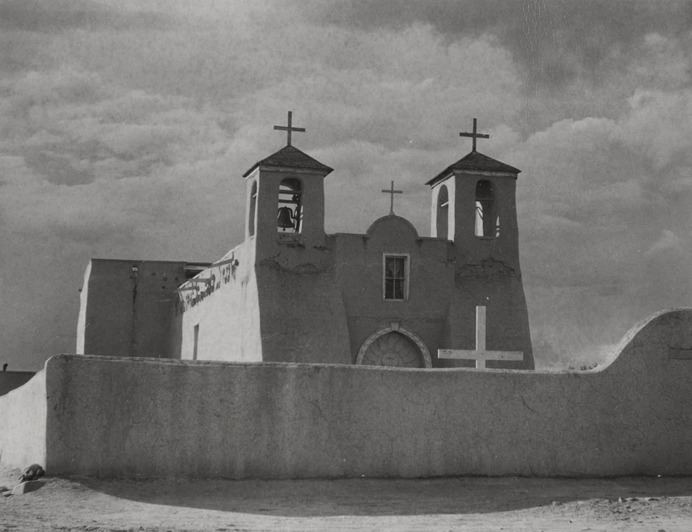 Paul Strand-Ranchos De Taos Church-1931