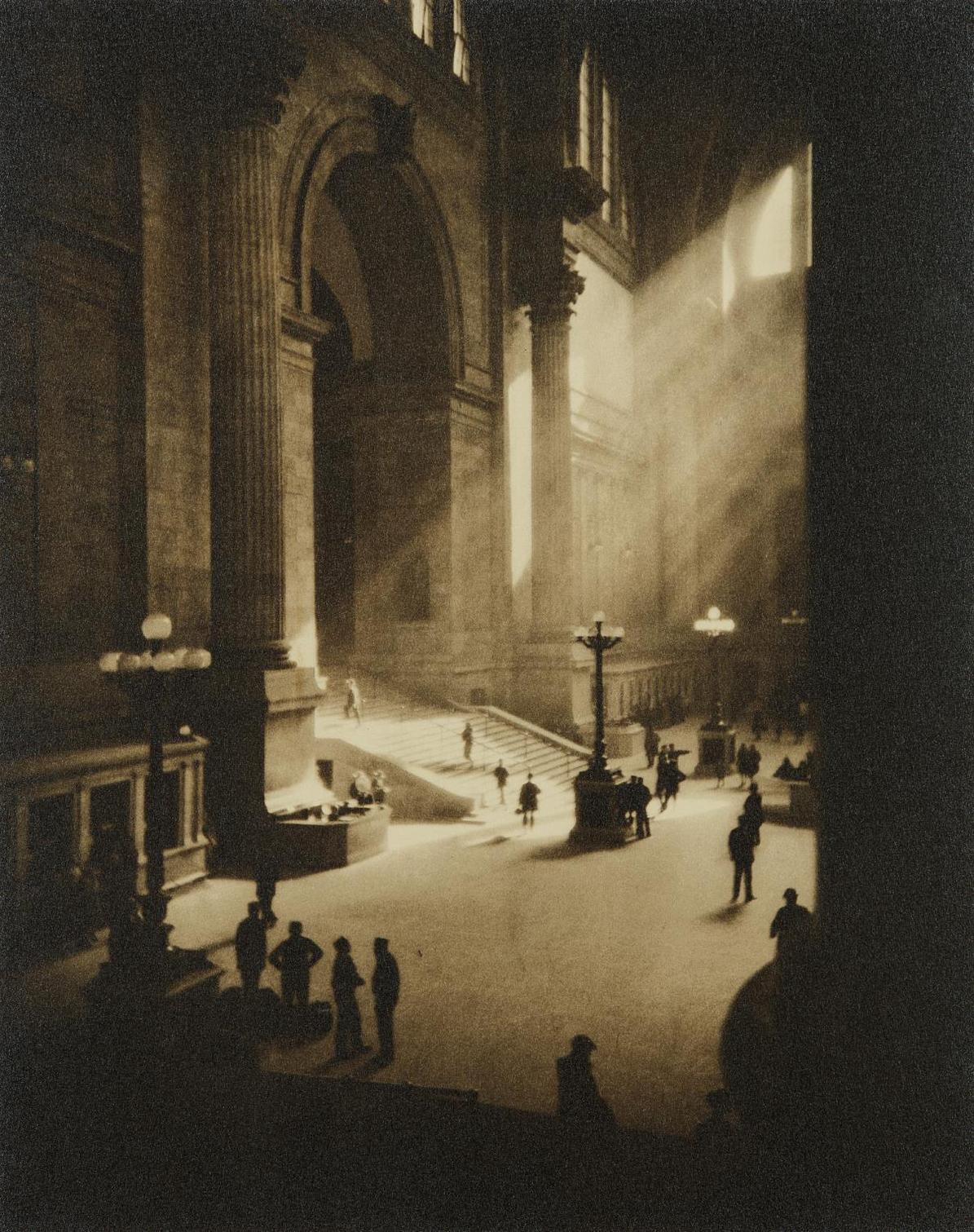 Drahomir Josef Ruzicka-Penn Station, New York-1919