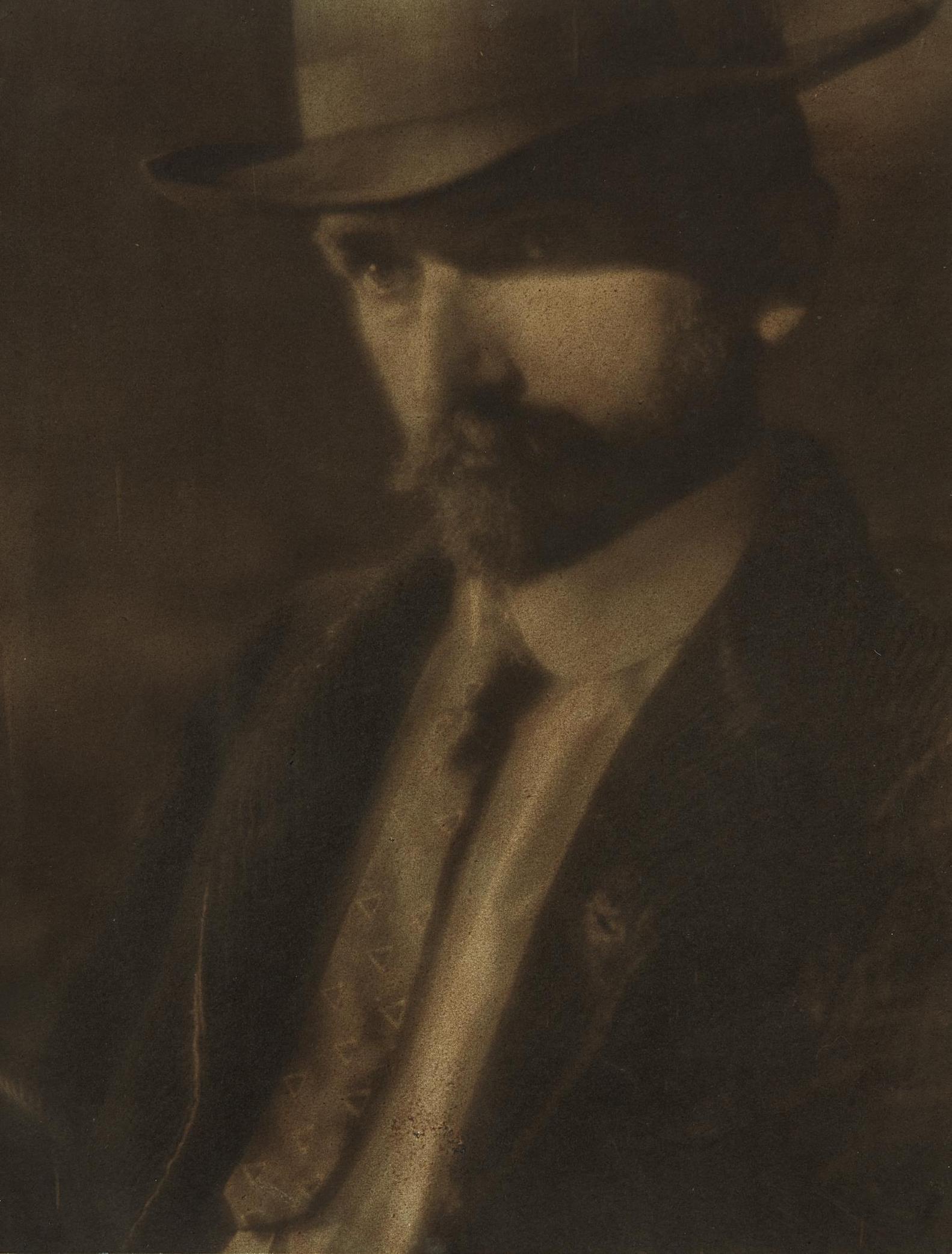 Alvin Langdon Coburn-Portrait Of Arthur Wesley Dow-1903