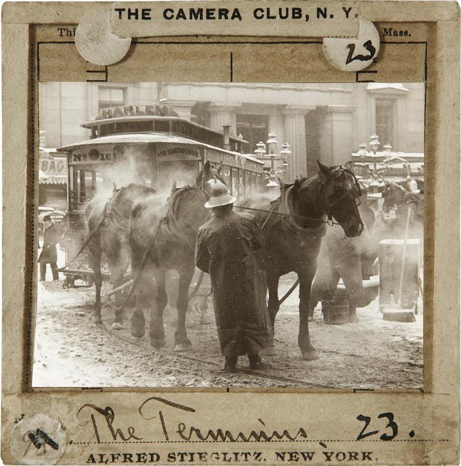 Alfred Stieglitz-The Terminus-1893