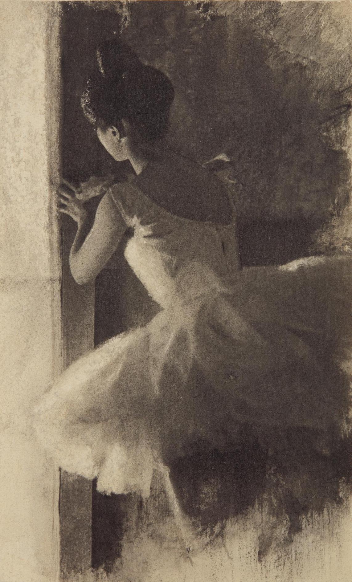 Robert Demachy-Dans Les Coulisses-1900