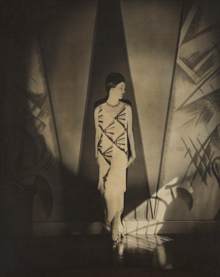 Edward Steichen-Anita Chase In A Vionnet Gown-1925