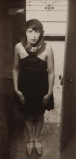 Andre Kertesz-Magda Forstner (Standing In The Doorway Of Etienne Beothys Studio)-1926
