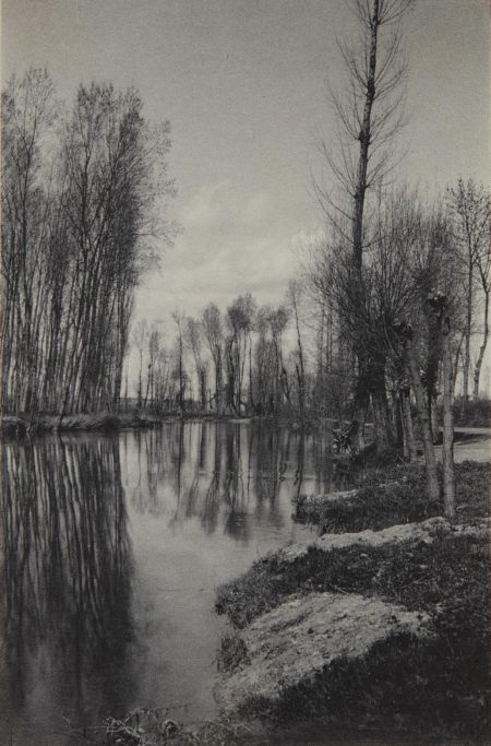 Frederick H. Evans-Crepuscule Au Printemps-1900