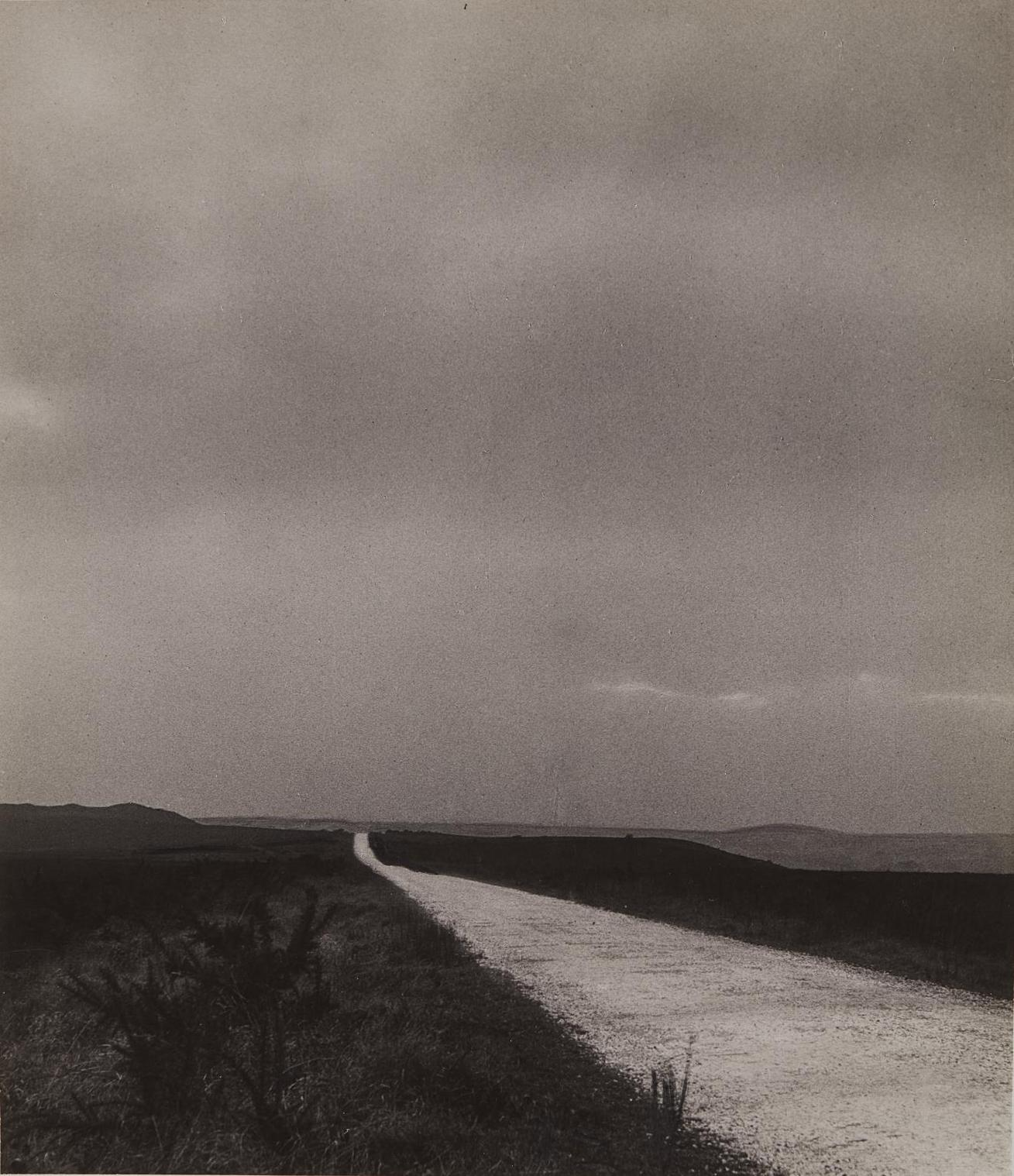 Bill Brandt-Hardy's Wessex, The White Highway Of Egdon Heath-1946