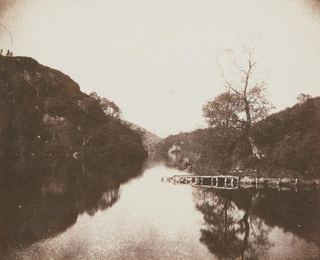 William Henry Fox Talbot-Loch Katrine Pier, Scene Of The Lady Of The Lake-1844