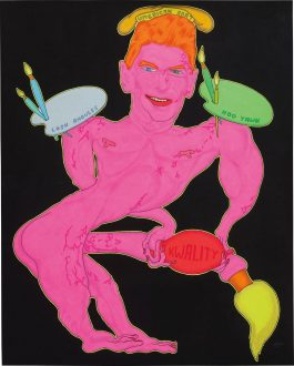 Peter Saul-Umerican Art (Ronald Reagan)-1970