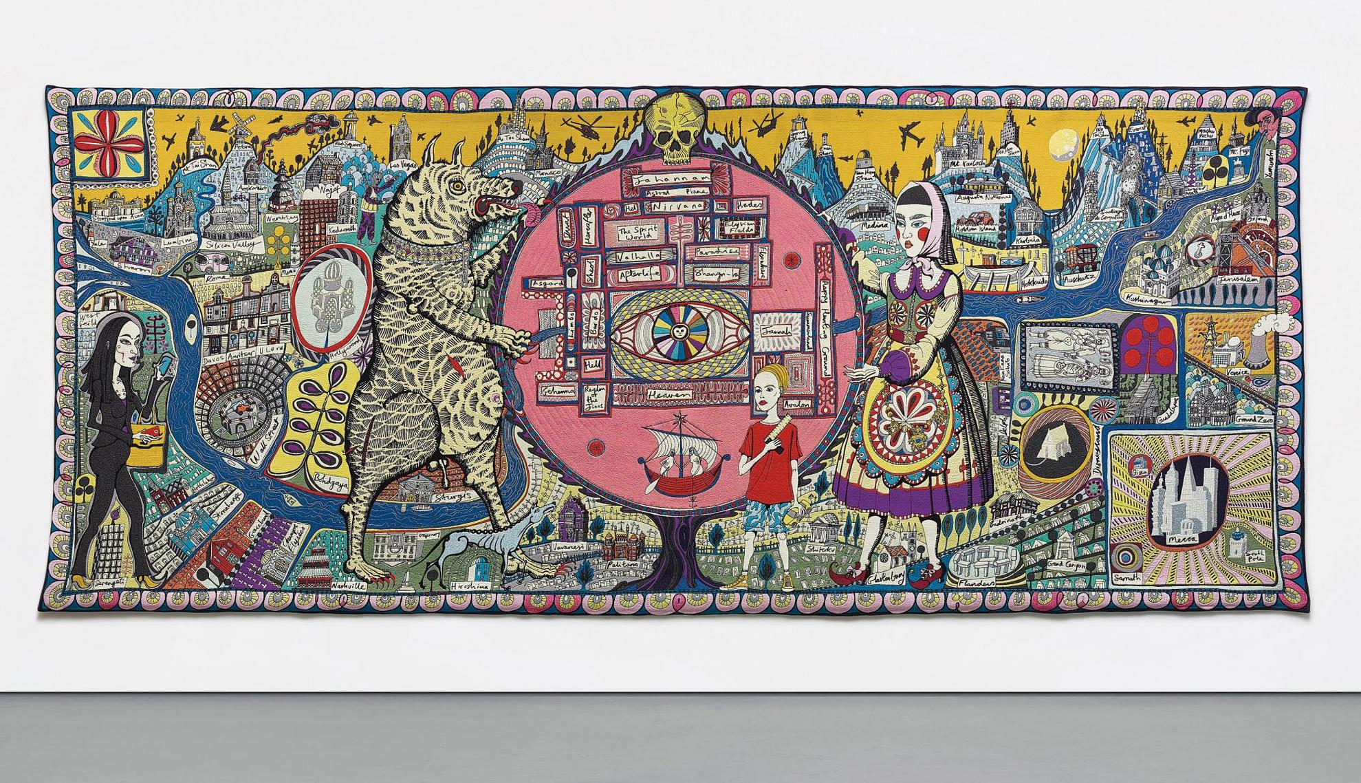 Grayson Perry-Map Of Truth And Beliefs-2011