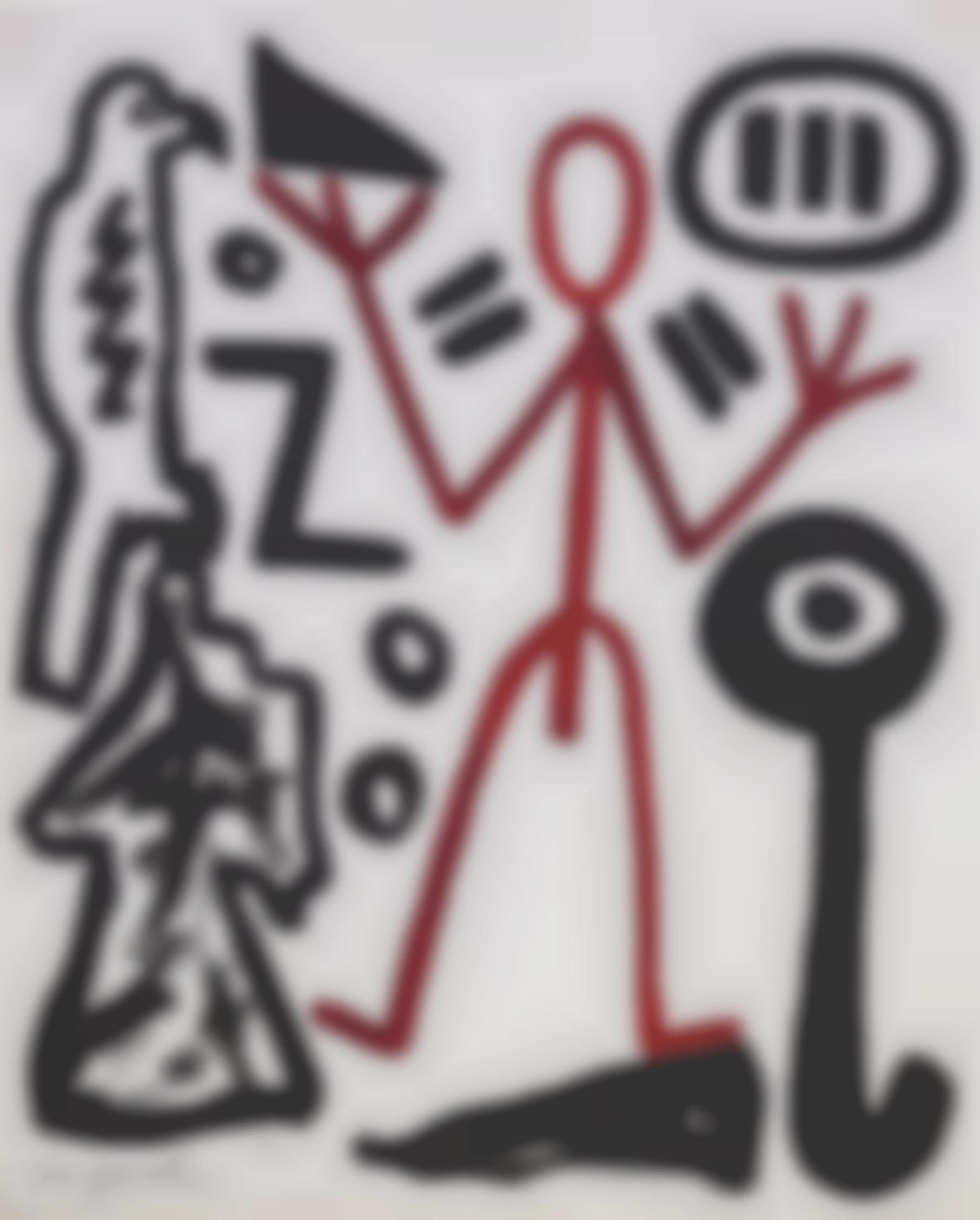 A.R. Penck-Untitled-1973