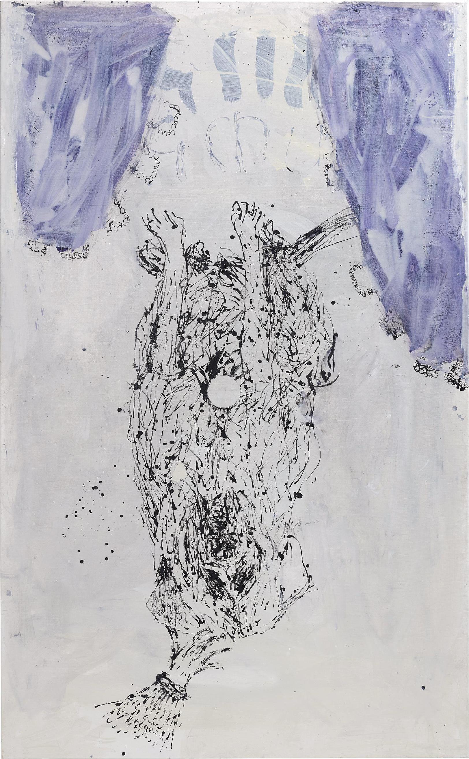 Georg Baselitz-Hundekunst-2000