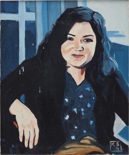 Martin Kippenberger-Ulrike (Ulrike Schmela)-1984